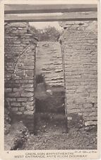 West Entrance, Ante Room Doorway, The Amphitheatre, CAERLEON, Monmouthshire