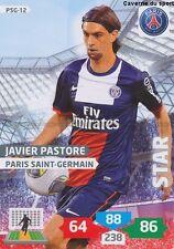 PSG-12 JAVIER PASTORE # ARGENTINA PARIS.SG CARD ADRENALYN FOOT 2014 PANINI