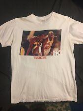 Kobe Bryant Michael Jordan T-Shirt White M