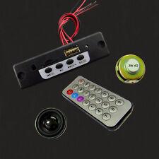 5V Bluetooth MP3 Decoding Board Amplifier Module DIY +2pcs 3W 4ohm Speakers s700