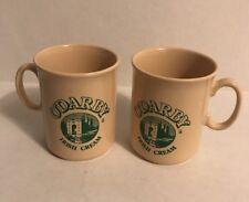O'Darby Irish Cream Coffee Mugs England Lot of 2 Irish Coffee Cups