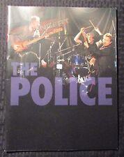 2007 THE POLICE Reunion Tour Book Concert Program VF- 7.5