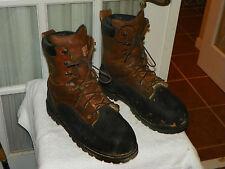 "Men's LaCrosse 8"" Comp Toe Metguard Miner WP Insulated Work Boots Men's size 14"