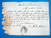 1868 CERTIFICATO DI MORTE DA SANTA REPARATA IN VALLE NELLA DIOCESI DI MODIGLIANA