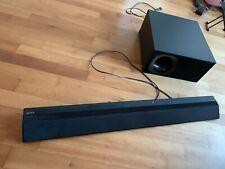 Sony HT-CT 380 Soundbar und Subwoofer