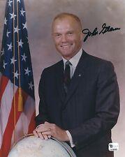 JOHN GLENN SIGNED 8x10 PHOTO 5 - NASA MERCURY ASTRONAUT -  UACC RD AUTOGRAPH