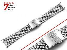 For SEIKO Watch 7002 Jubilee SILVER Steel Watch Strap Band Bracelet 20mm 22mm