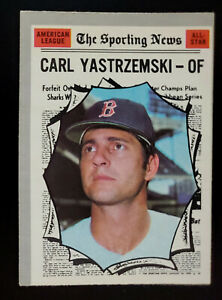 1970 OPC O-Pee-Chee Carl Yastrzemski #461 HOF - EX