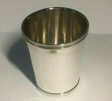 VINTAGE SOLID STERLING SILVER BEAKER/CUP, 96.30,GRAMS,