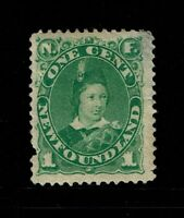Newfoundland SC# 46, Mint Hinged, Hinge Remnant, see notes - S6818