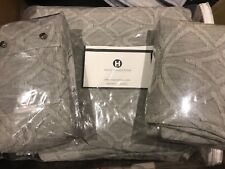 New Hotel Collection - Connection Cotton Gray Queen Duvet Cover W/2 Shams- $630