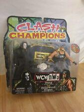 WCW NWO Clash of Champions Sting Hollywood Hogan Action Figure Set Toybiz 1999