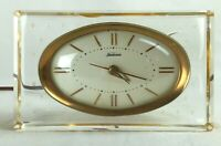 Tested Working Vintage Sunbeam Electric Desk Shelf Clock with Alarm Model B008
