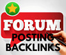 1000 forum posting backlinks. Best for SEO - Limited Time Offer!