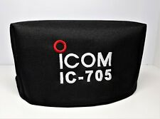 IC-705 equipped WINDCAMP ARK-705 dust cover for transceiver