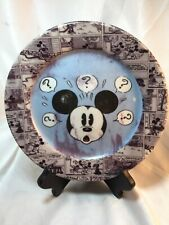 Vintage Disney Mickey Mouse Plate Sketchbook~Style, Comic Strip Border