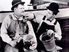 Movie Film Scene Towed In A Hole Laurel Hardy Comedy Classic Poster Art Lv10180