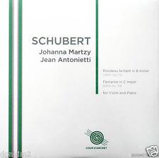 JOHANNA MARTZY / Schubert Violin Recital / UK COUP d'ARCHET, COUP 021