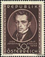 Österreich 942 (kompl.Ausg.) gestempelt 1949 J. Strauss