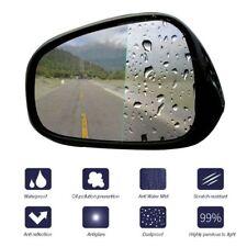 2Pcs Car Rear View Mirror Window Anti-Fog Nano Coating Rainproof Protective Film