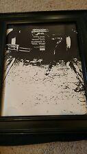 Classics IV Spooky Soul Train Rare Original Promo Poster Ad Framed!