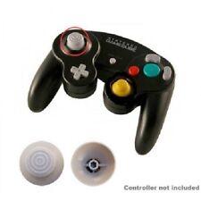 NEW GAMECUBE CONTROLLER LEFT SIDE JOYSTICK REPLACEMENT ANALOG CAP (GRAY)