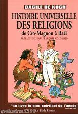 Livre religion  histoire universelle des religions  de Cro-Magnon   book