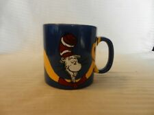 Cat In The Hat Hand Painted Ceramic Coffee Cup by R. J. Ogren