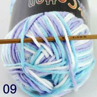 AIP New 1Skeinx50gr Soft DK Baby Cotton Crochet Yarn Hand Wool Scarf Knitting 09