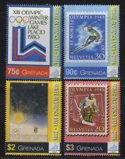 Grenada - 2006 - Winter Olympics - Set Of 4 Stamps - MNH