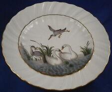 Meissen Porcelain Polychrome Swan Service Plate Porzellan Schwanenservice Teller