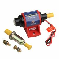 CarBole 4-7 PSI Micro Electric Fuel Pump For w/Carburetor 35 GPH 12V Transfer