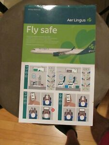 Aer Lingus Airbus A321 NEO Safety Card