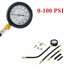 Universal Fuel Injection Gauge Pressure Tester Car System Pump Tool 0-100 PSI