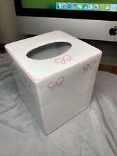 Zrike Ruban Pink Vintage Tissue Cover Ceramic