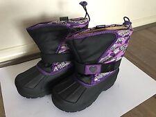 Reinforced Toe Light Weight Child Kids Snow ski Boots Girls WaterProof AU12