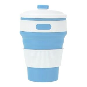 Coffee Mugs Travel Collapsible Silicone Cup Folding Water Cups BPA FREE