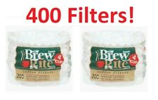 (400) Coffee Maker Cupcake Style 4-Cup Filter 47-201