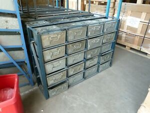 Tote Pan Rack, stackable with 20 Steel Tote Pans