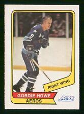 GORDIE HOWE 1976-77 O-PEE-CHEE WHA 76-77 NO 50 EXMINT  34958
