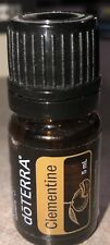 New! DoTerra CLEMENTINE Essential Oil 5 ml sealed exp 2023