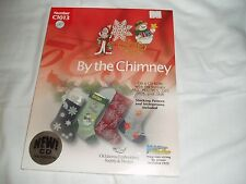 New Sealed Christmas EMBROIDERY CD Okla Supply&Design C1013 By the Chimney $0S/H