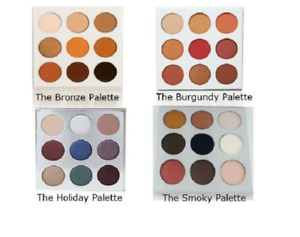 NEW Duped Cosmetics 9 Palette Eye Shadow Bronze Burgundy Holiday or Smoky
