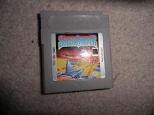 Nintendo Gameboy -  solar striker  - cart only