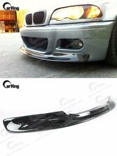 CARKING BLACK PAINTED 01-06 BMW E46 M3 RACING APRON FRONT LIP SPLITTER SPOILER