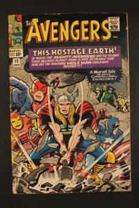 Avengers #12 - HIGHER GRADE - Thor Cover - Marvel Comics