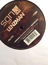 "Lenzman-Emeralds/Mesmerized 12"" Vinyl Signal SGN:LTD Drum and Bass"