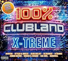 100% CLUBLAND X-TREME 4CD ALBUM SET (New Release March 2018)