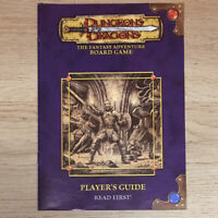 Players Guide, Dungeons & Dragons Board Game, Parker 2003