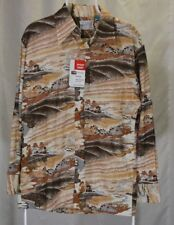NOS Vintage KMART Polyester Long Sleeve Button Front Dress Shirt Size L 1970s?